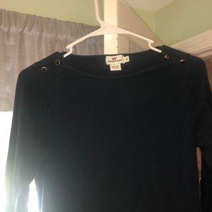 Long sleeve Navy VV shirt